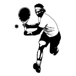 codo de tenista rafael nadal
